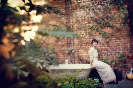 Wedding inspiration vintage dress a cup of jo for Vintage wedding dress los angeles