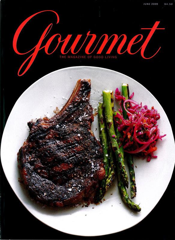 conde nast fold gourmet magazine