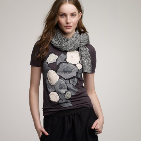 84d6085ff12 J. Crew s floral T-shirts are so cute
