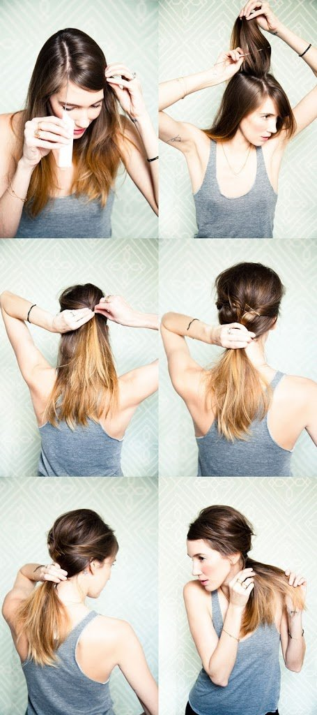 Outstanding Messy Side Ponytail A Cup Of Jo Natural Hairstyles Runnerswayorg