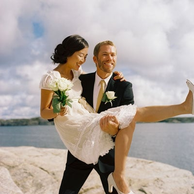 Do You Remember This Breezy Swedish Island Wedding Well I Just Saw The Dress Over On OnceWeds Boutique Ahhh Want To Get Married Again And Wear It