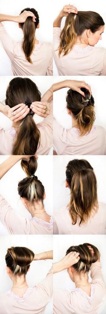 Doing Your Own Wedding Hair : DIY Wedding Hair: Chestnut Bun A Cup of Jo