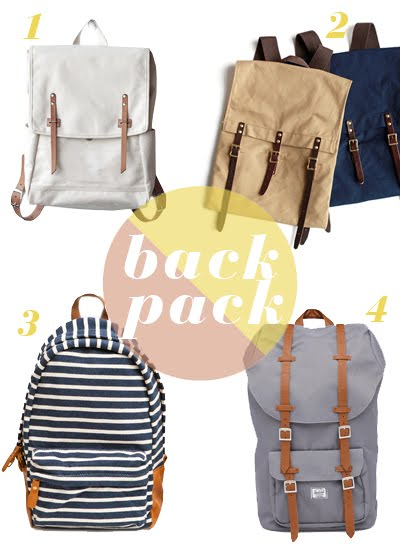 Eight cool backpacks   A Cup of Jo