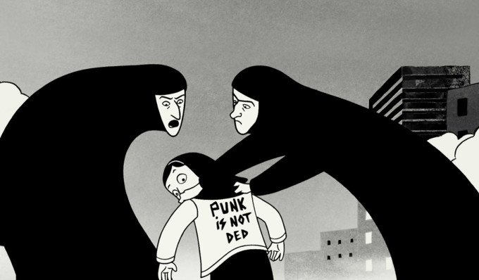 Persepolis graphic novel