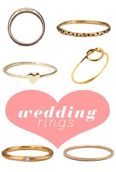 Simple wedding rings a cup of jo ive spotted lots of women around new york recently wearing simple gold wedding bands pretty so i decided to do a round up of longtime favorites malvernweather Gallery