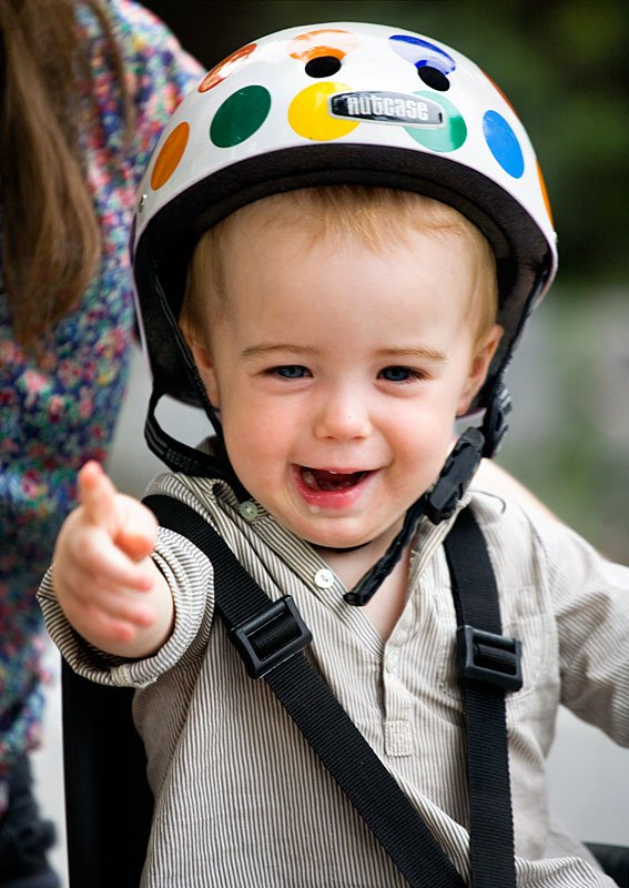 Riding Bikes with Babies | A Cup of Jo