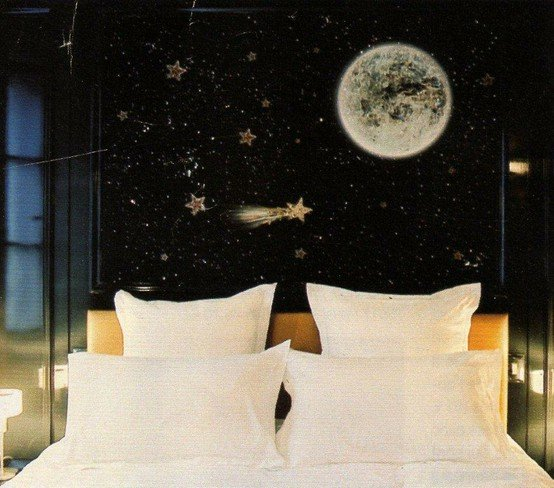 Constellation bedroom a cup of jo for Design hotel glow