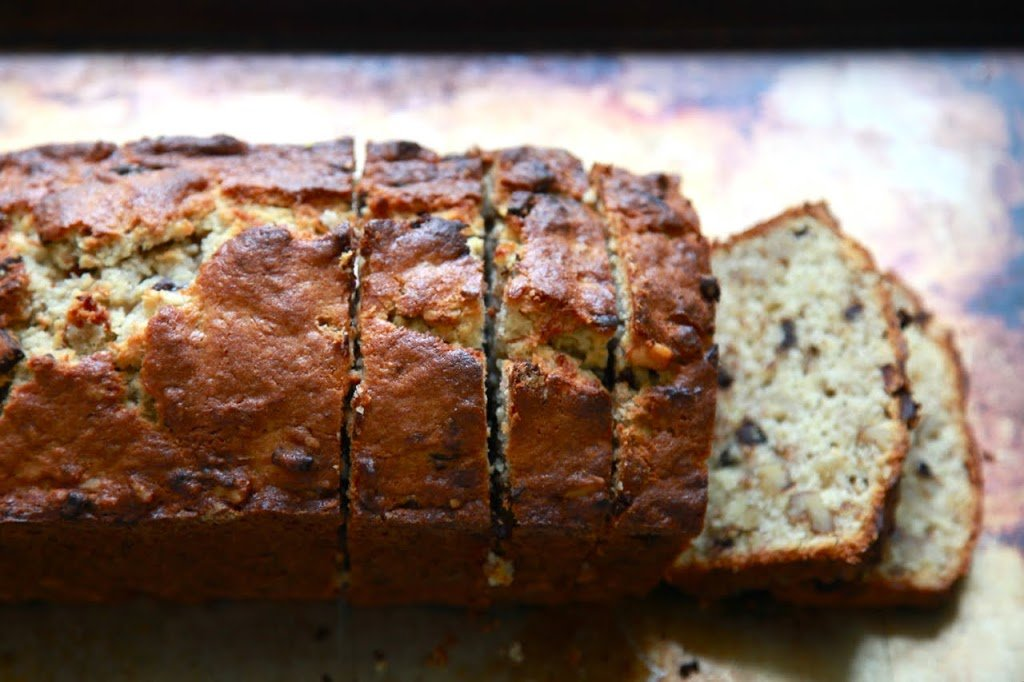 The best banana bread youll ever have with bourbon and chocolate the best banana bread youll ever have with bourbon and chocolate chunks forumfinder Images