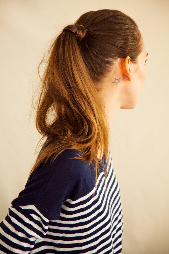 how to do a cute ponytail