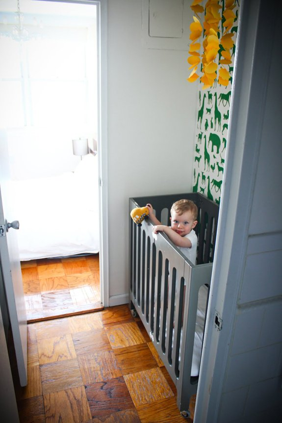 Motherhood Mondays Nursery In A Closet A Cup Of Jo