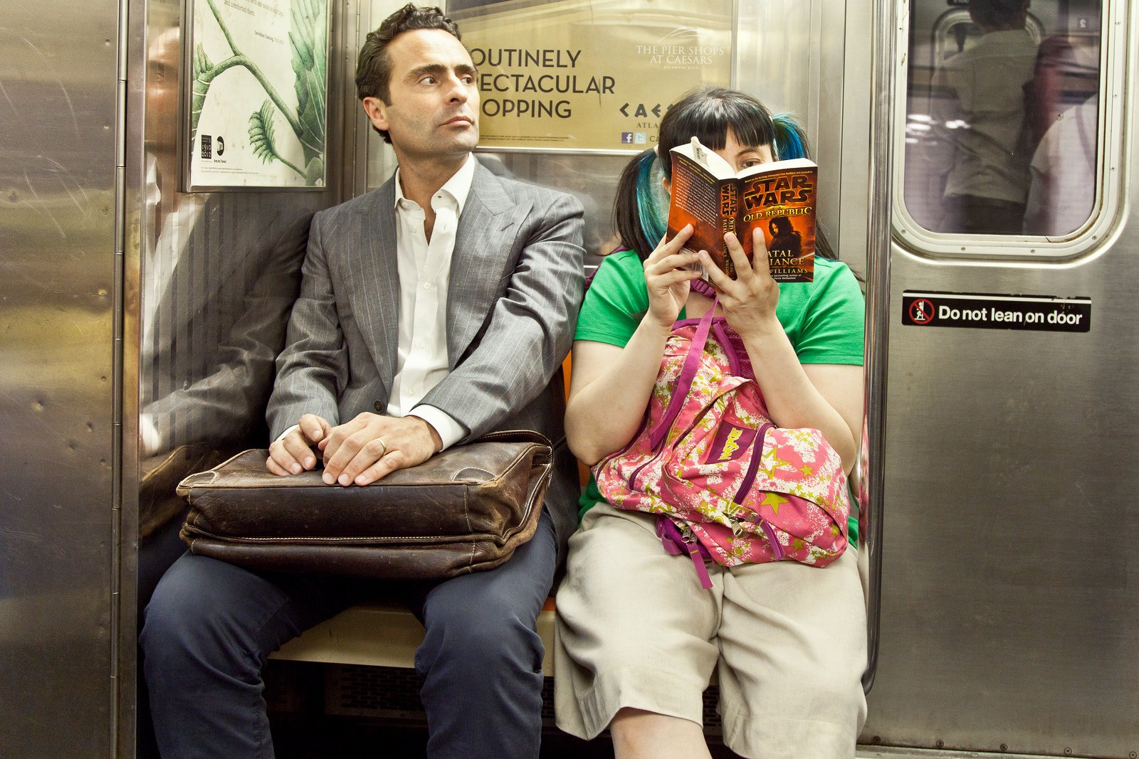 Subway Reading A Cup Of Jo