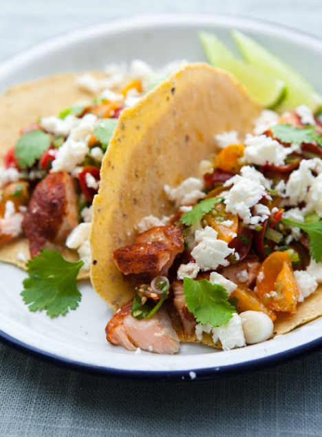 The best salmon tacos you 39 ll ever have a cup of jo for Best fish taco recipe