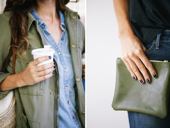 Fall Trend: Navy Nails | A Cup of Jo