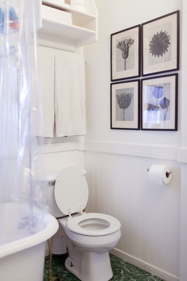 San Francisco Apartment Tour (500-Square-Feet!) | A Cup of Jo on Apartment Bathroom  id=28869