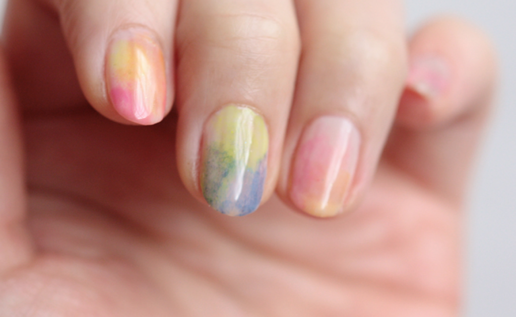 Watercolor Nail Polish