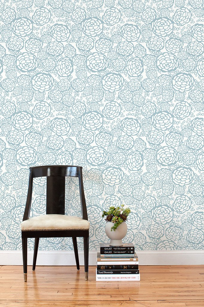Wallpaper for Renters | A Cup of Jo