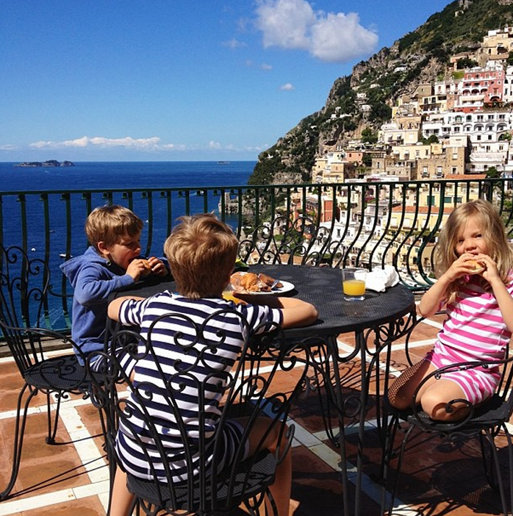 Family Vacation Idea Positano
