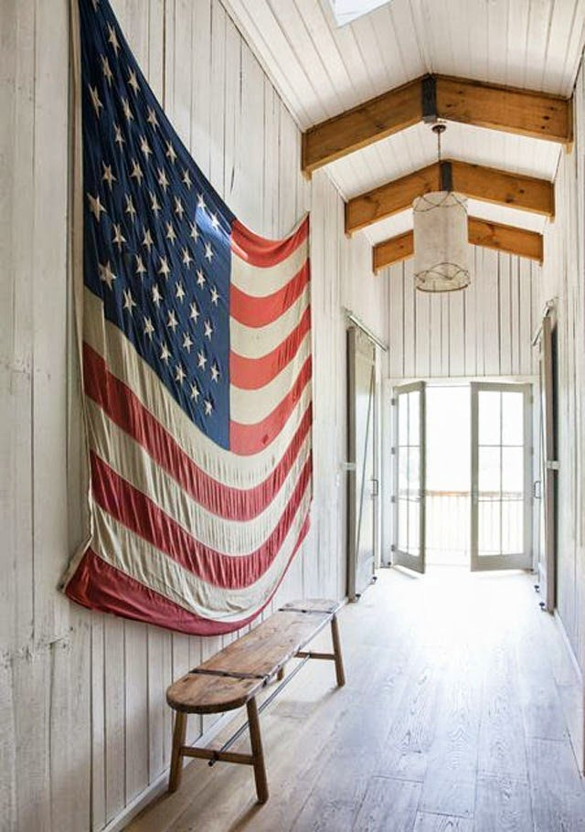Hang Flag On Wall do or don't: flag decor | a cup of jo