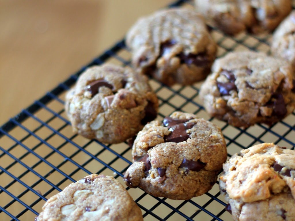 Peanut Butter Chocolate Chunk Cookies | A Cup of Jo