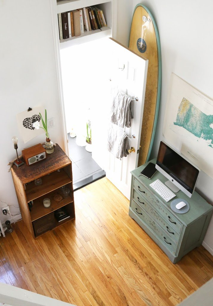 15 genius tips for living in small spaces a cup of jo for Small apartment living