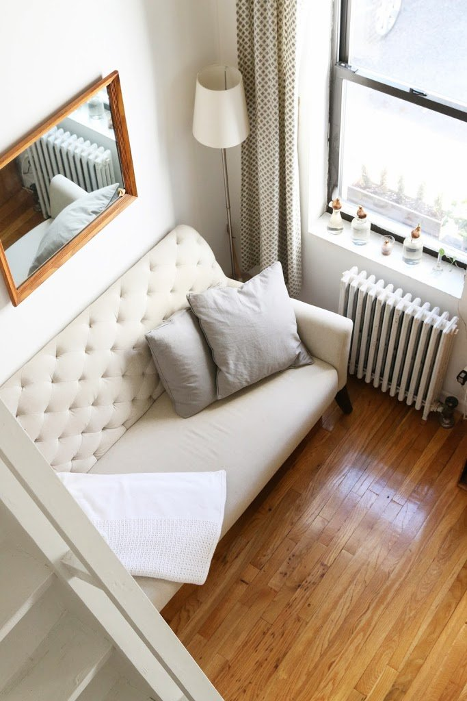 Studio Apartment Tips 15 genius tips for living in small spaces | a cup of jo