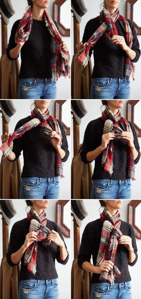 Three Ways to Tie a Scarf