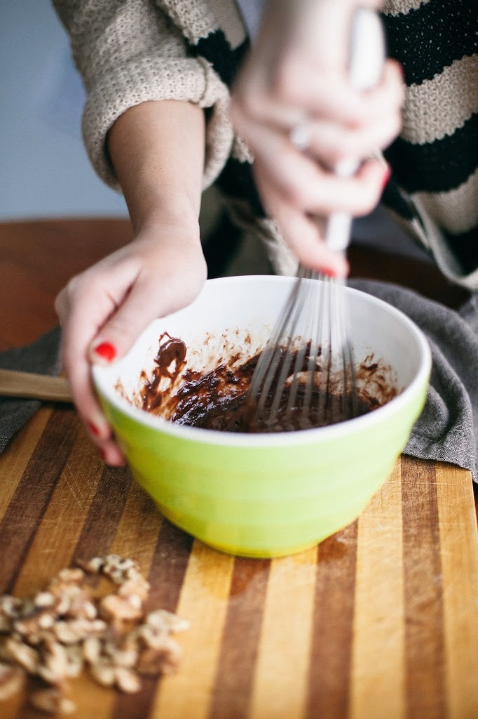 Four-Ingredient Nutella Brownies | A Cup of Jo