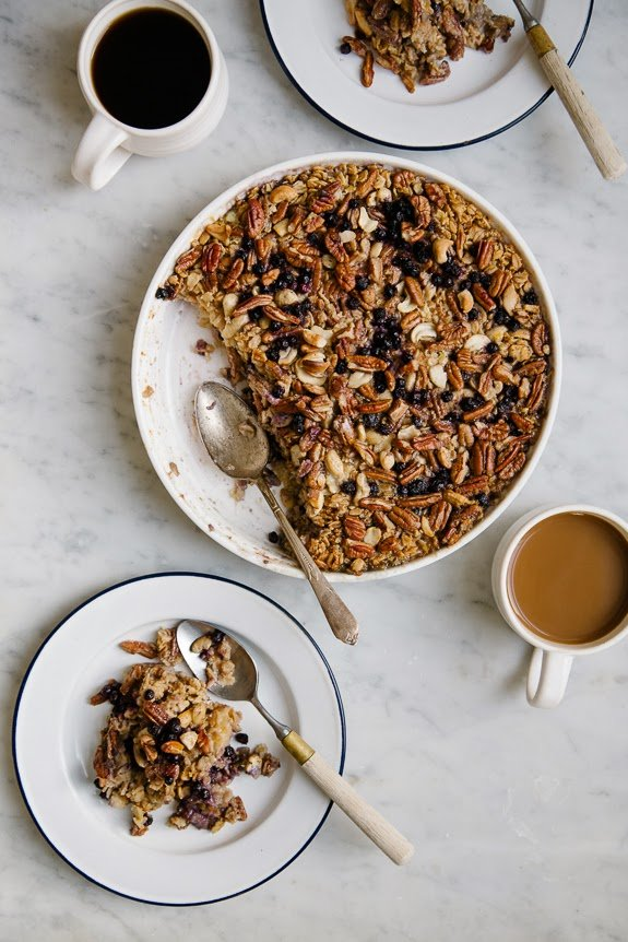... baked oatmeal, which would be perfect for overnight guests