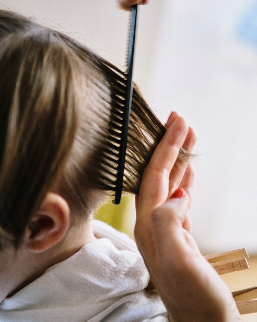 How To Cut A Childs Hair A Cup Of Jo