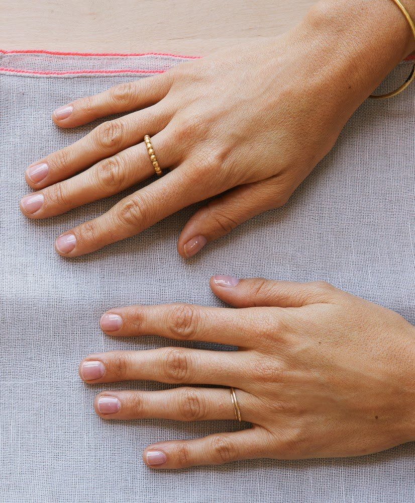 Basically Nail Glow Which Is Slightly Pink Enhances The Natural Color Of Your Nails Pinks Become Pinker And Whites Whiter
