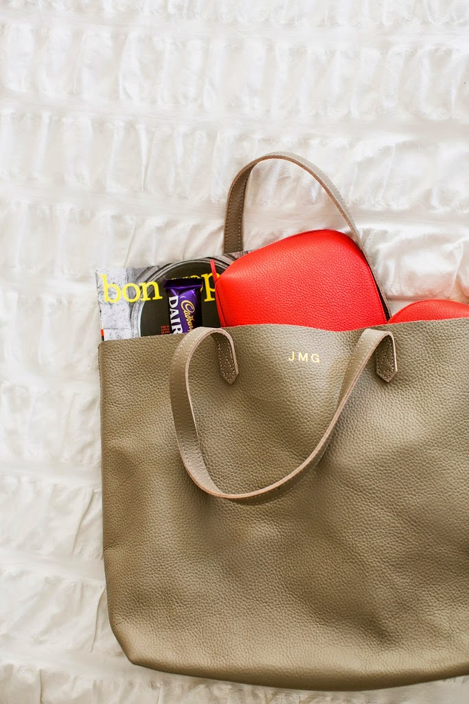 Everyday Leather Tote Bag