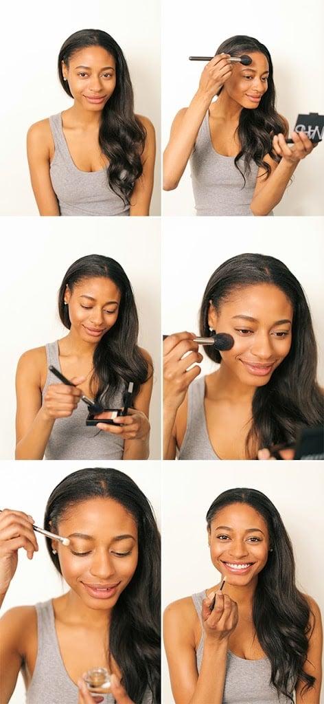 How To Wear Bronzer