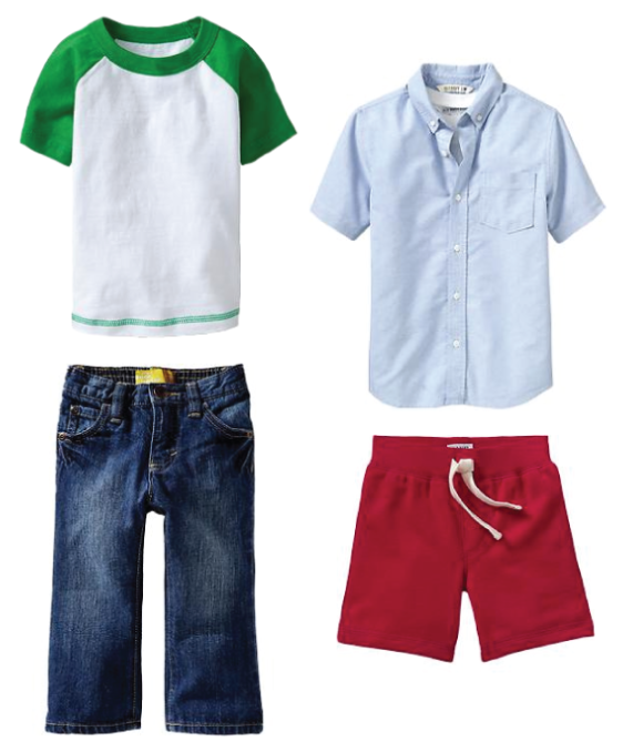 36e98df72ad2 Summer Clothes for Kids