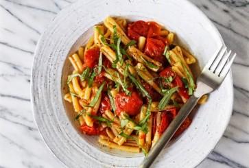 Tomato-Confit-Pasta-three-ingredient-summer-pasta-cupofjo