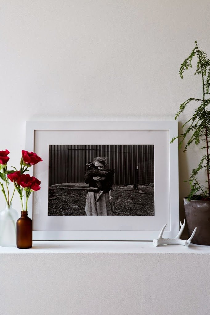 A Great Way to Frame Art | A Cup of Jo