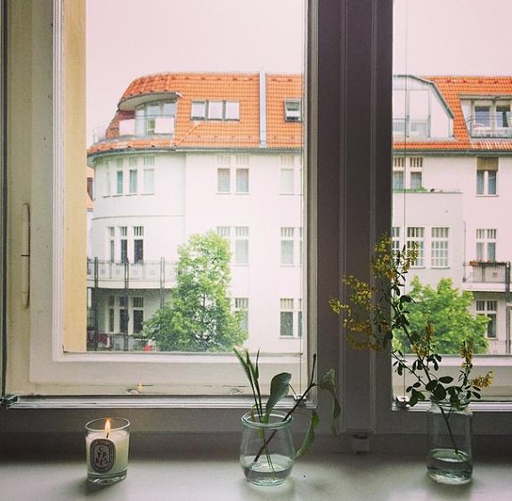 motherhood in Berlin window