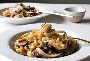 three-ingredient-pasta-mushrooms-walnuts-parmesan