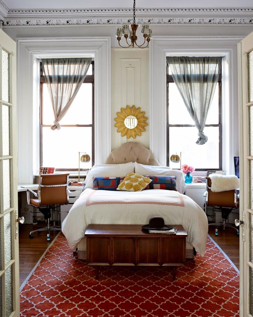 Bedroom brooklyn apartment house tour inspiration cupofjo