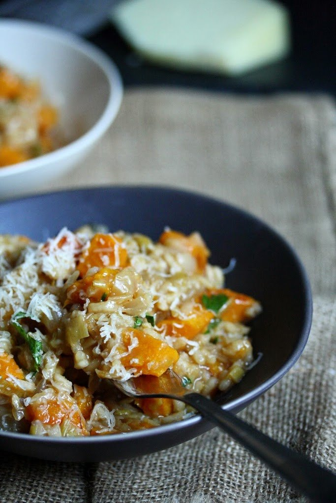 meals continues with this Spanish-inspired butternut squash risotto ...