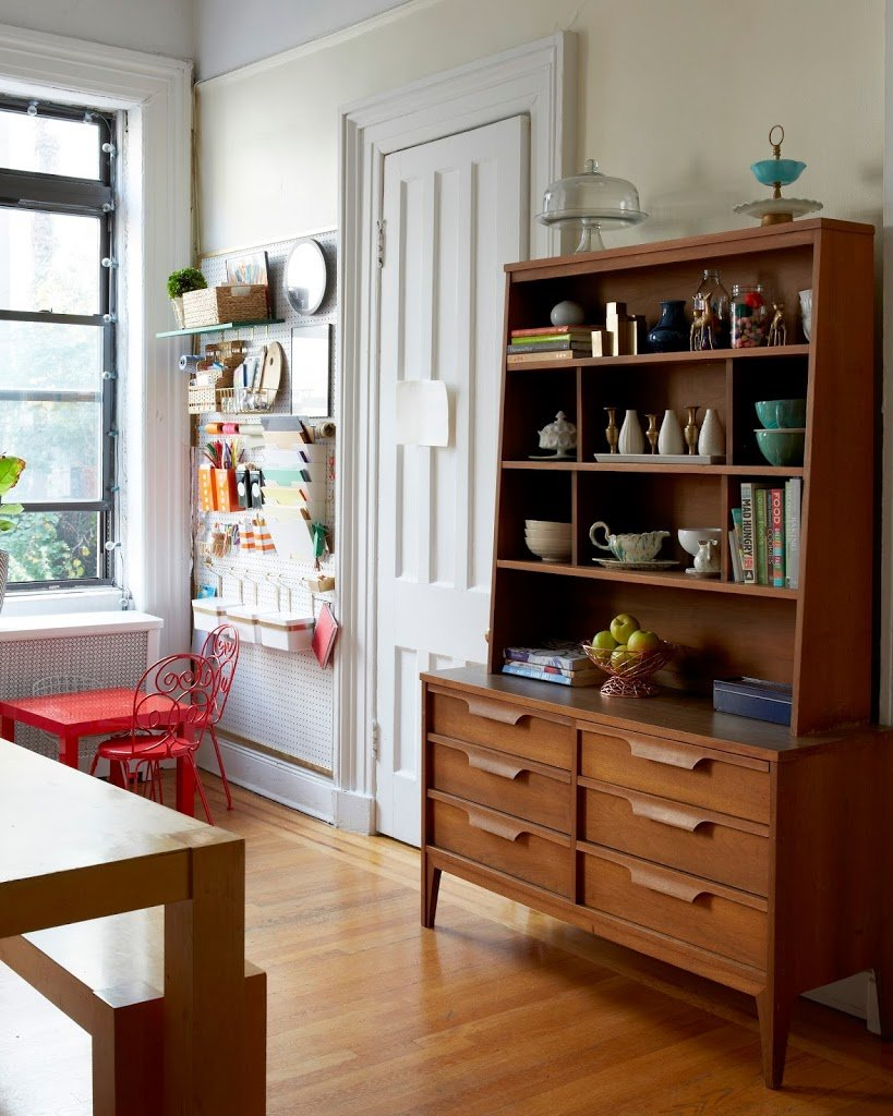 Kitchen inspration brooklyn home apartment tour cupofjo