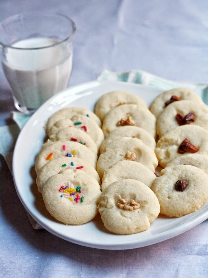 Butter Cookies (With Just Three Ingredients)