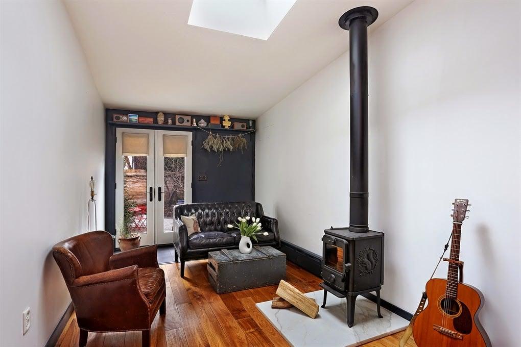 narrow- living-room