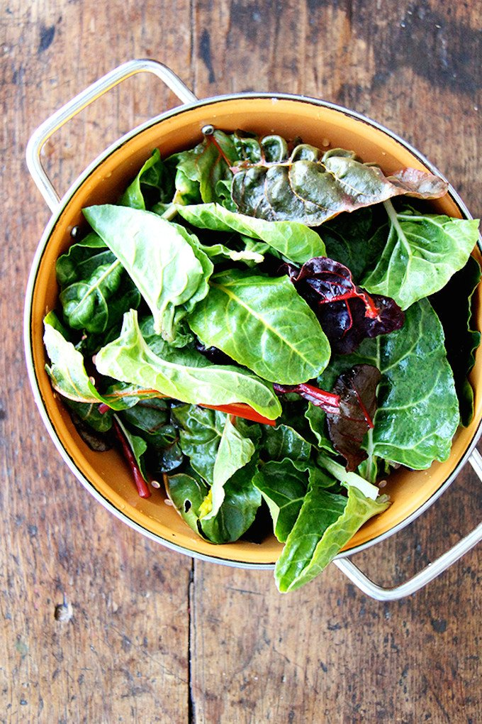 Pasta With Spring Greens