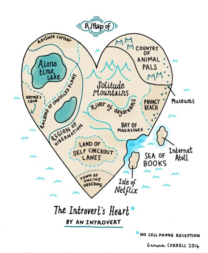 map-introverts-heart