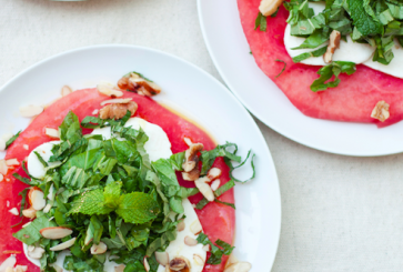watermelon-mozzarella-salad