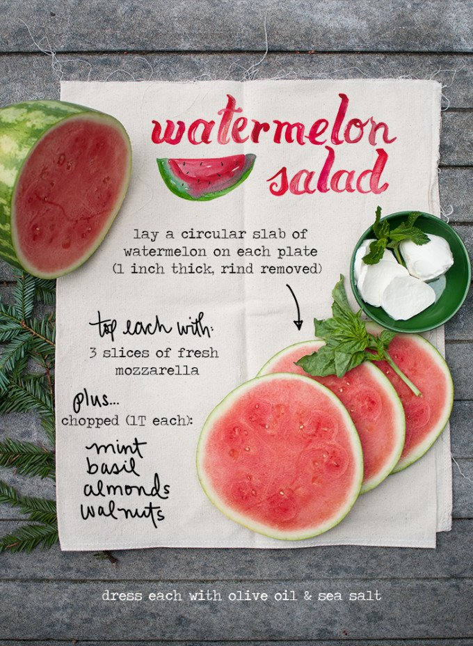 watermelon-mozerella-salad-ingredients