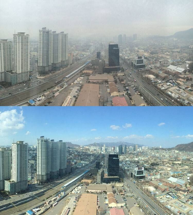 Seoul Had the Second-Worst Air Quality in the World This Morning