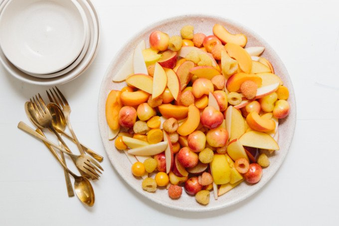 Monochromatic Fruit Salad Recipe