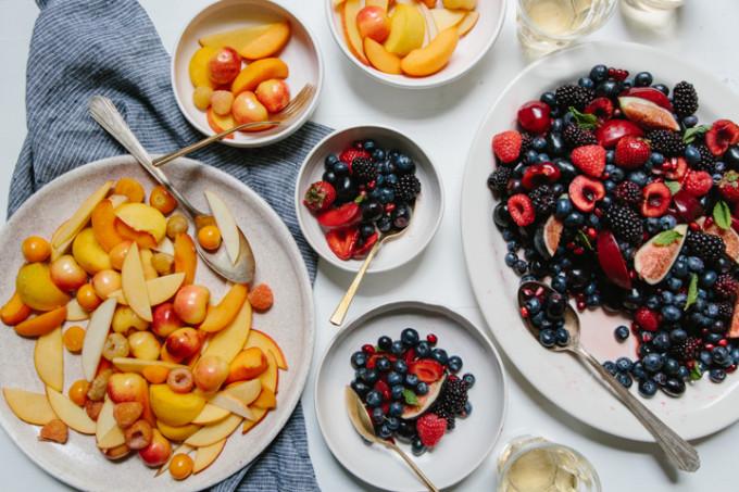 Monochromatic Fruit Salad Recipe