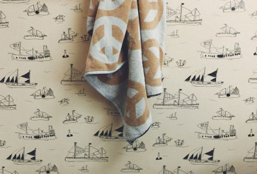 Liz Libre Wallpaper and Lena Corwin Peace Towel
